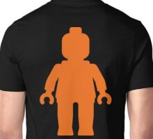 Minifig [Large Orange]  Unisex T-Shirt