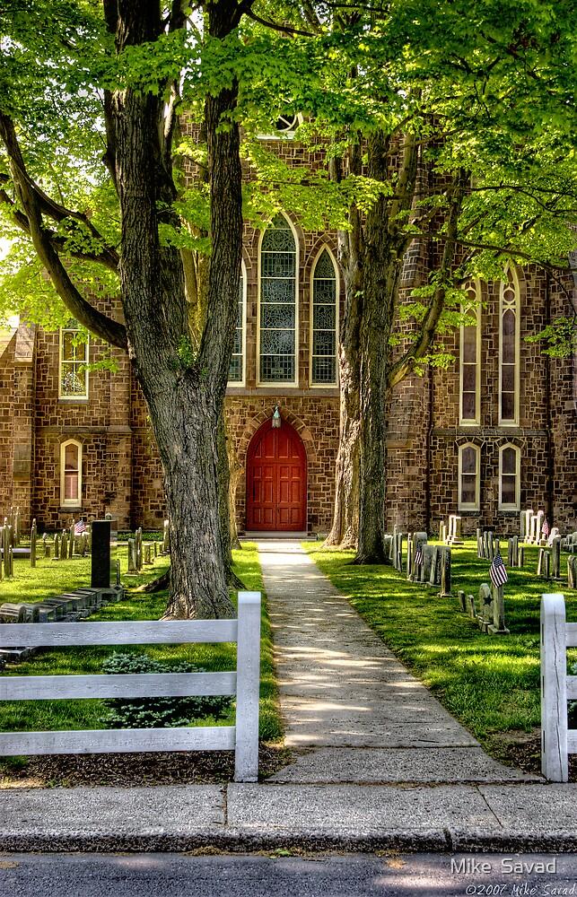 A church by Mike  Savad