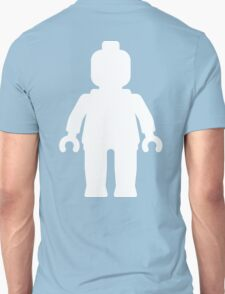 Minifig [Large White]  Unisex T-Shirt