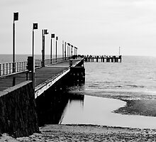 Frankston Pier by Kelly Kolodziej