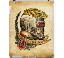 Star Lord Tattoo Parlor iPad Case/Skin