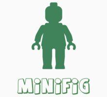 Minifig [Green]  Kids Tee
