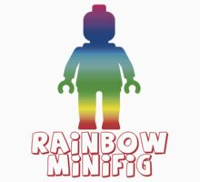 Rainbow Minifig  Kids Clothes