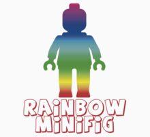 Rainbow Minifig  by Customize My Minifig