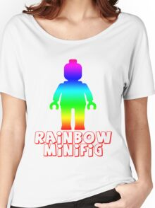 Rainbow Minifig  Women's Relaxed Fit T-Shirt
