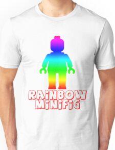 Rainbow Minifig  Unisex T-Shirt