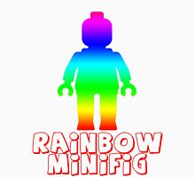 Rainbow Minifig  Womens Fitted T-Shirt