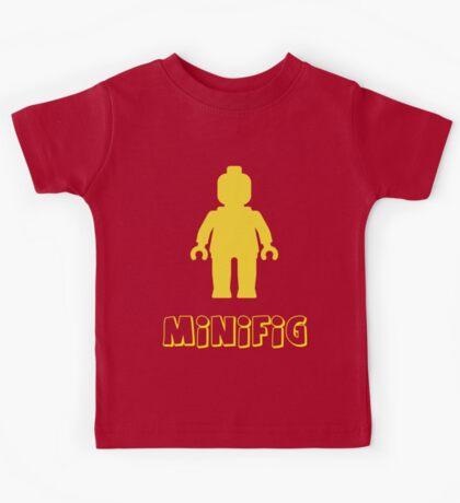 Minifig [Yellow]  Kids Tee