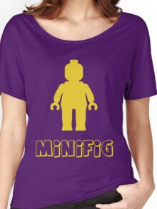 Minifig [Yellow]  Women's Relaxed Fit T-Shirt