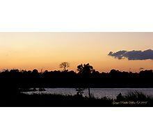 Merritt Island Sunset Photographic Print