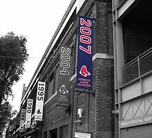 Fenway Park, Boston, MA - 2007 ALCS Championship Banner by gplus5