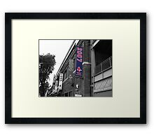 Fenway Park, Boston, MA - 2007 ALCS Championship Banner Framed Print