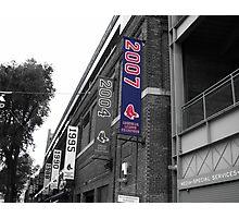 Fenway Park, Boston, MA - 2007 ALCS Championship Banner Photographic Print