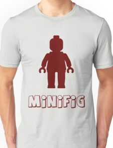 Minifig [Dark Red]  T-Shirt