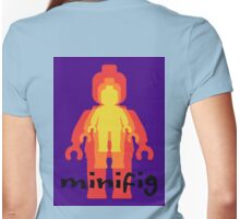 Colored Minifigs Womens Fitted T-Shirt