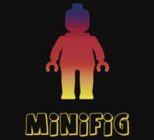 Minifig [Rainbow 2]  One Piece - Short Sleeve