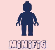 Minifig [Dark Blue]  Kids Clothes