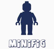 Minifig [Dark Blue]  Baby Tee