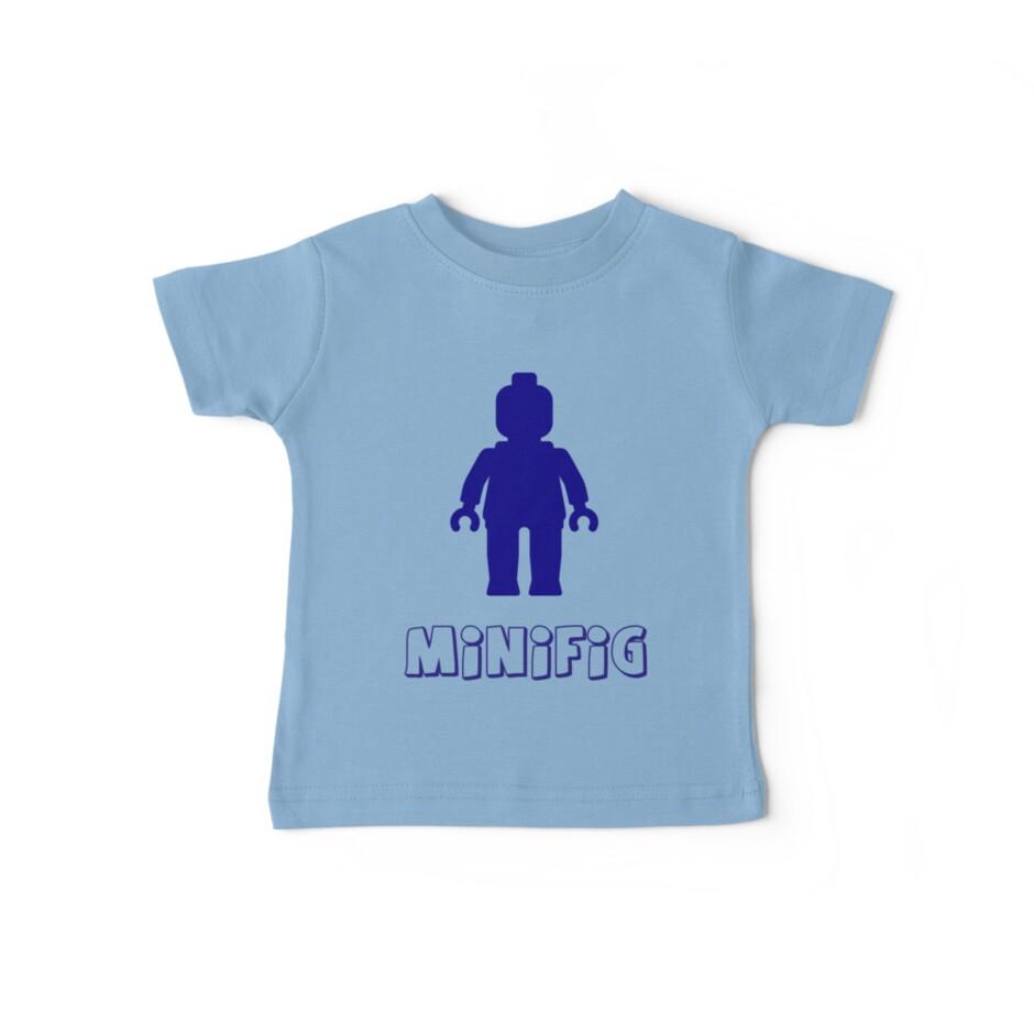 Minifig [Dark Blue]  by Customize My Minifig
