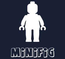 Minifig [White] Kids Tee