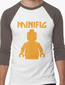 Minifig  Men's Baseball ¾ T-Shirt