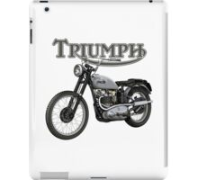 Triumph TR5 Trophy 1949 (The Fonz) iPad Case/Skin