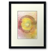 O Drawing 3 2014 Framed Print