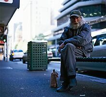 Homeless Friend 05 by philipandrew