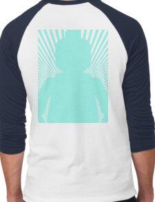 VORTEX MINIFIG Men's Baseball ¾ T-Shirt