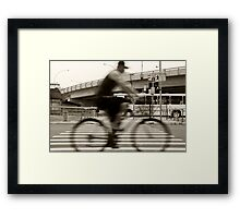 An Henri Cartier-Bresson Moment... Framed Print