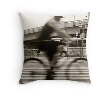 An Henri Cartier-Bresson Moment... Throw Pillow