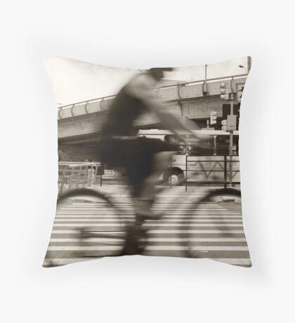 An Henri Cartier-Bresson Moment... Throw Pillow