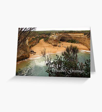 Loch Ard Gorge Greeting Card