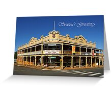 Hotel Dorrigo Greeting Card