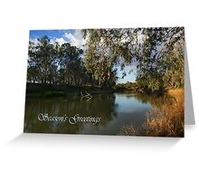 Darling River Greeting Card