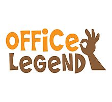 Office Legend Photographic Print