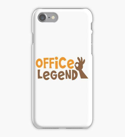 Office Legend iPhone Case/Skin