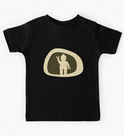 View from a Car Wing Mirror Kids Tee