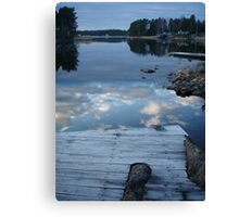 dive into the sky Canvas Print