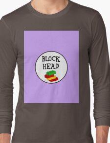 BLOCK HEAD Long Sleeve T-Shirt