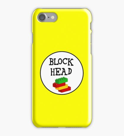 BLOCK HEAD iPhone Case/Skin