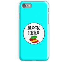 BLOCK HEAD iPhone Case/Skin