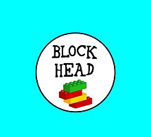 BLOCK HEAD by Customize My Minifig