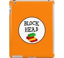 BLOCK HEAD iPad Case/Skin