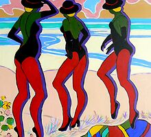 Dancing on the Beach by Virginia McGowan