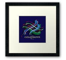 Colquhoun Tartan Twist Framed Print