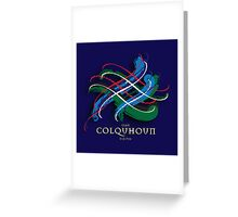 Colquhoun Tartan Twist Greeting Card
