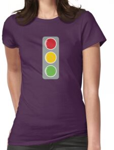 TRAFFIC lights Womens Fitted T-Shirt