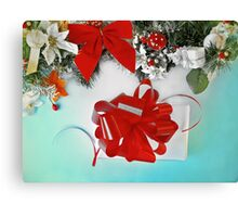 Christmas gift, New Year  Canvas Print