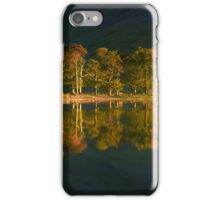 Reflected Pines iPhone Case/Skin